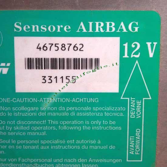 Centralina Sensore Airbag Veicoli Fiat Trw 46758762 331155 12v Ricambio Comando