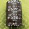Condensatore Elettrolitico in Alluminio da 450v 390uf 105 Gradi Snap In Nippon Chemi Con Marrone